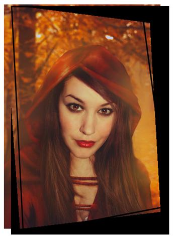 Bildbearbeitung S. Herz Red Riding Hood