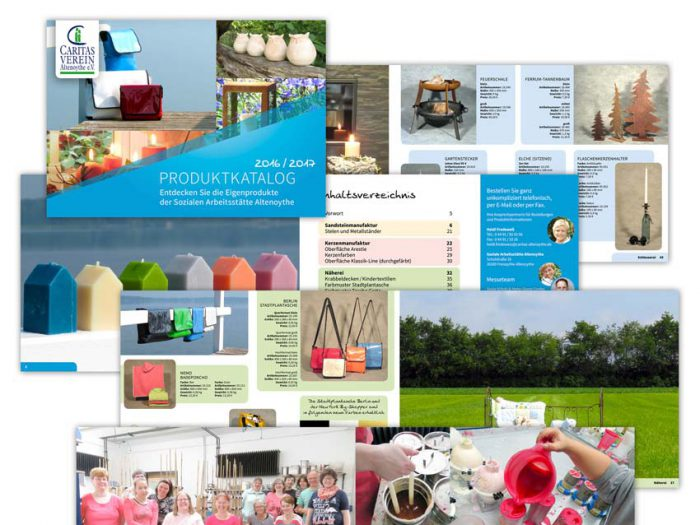 Caritas-Verein Altenoythe Produktkatalog 2016