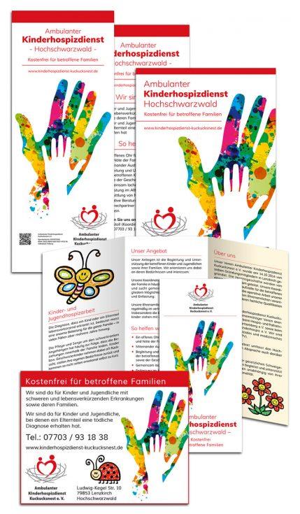 Corporate Design Ambulanter Kinderhospizdienst Kuckucksnest Hochschwarzwald