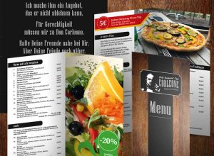 Corporate Design Restaurant Corleone Oldenburg