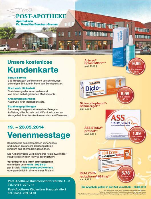 Design Anzeige Apotheke