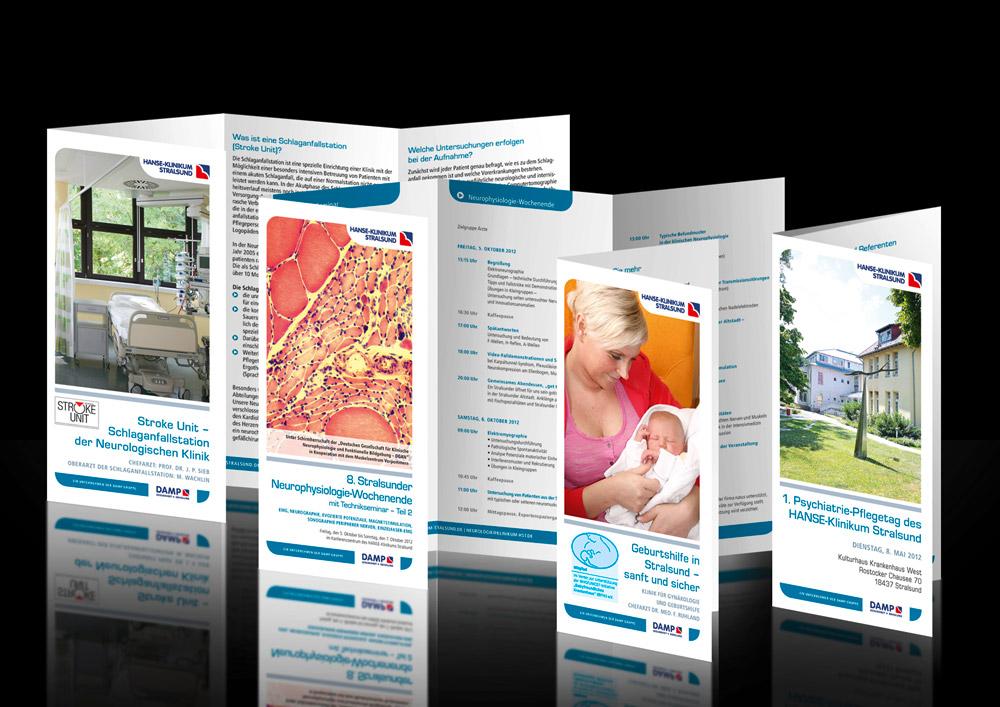 Design Flyer Klinik Medizin