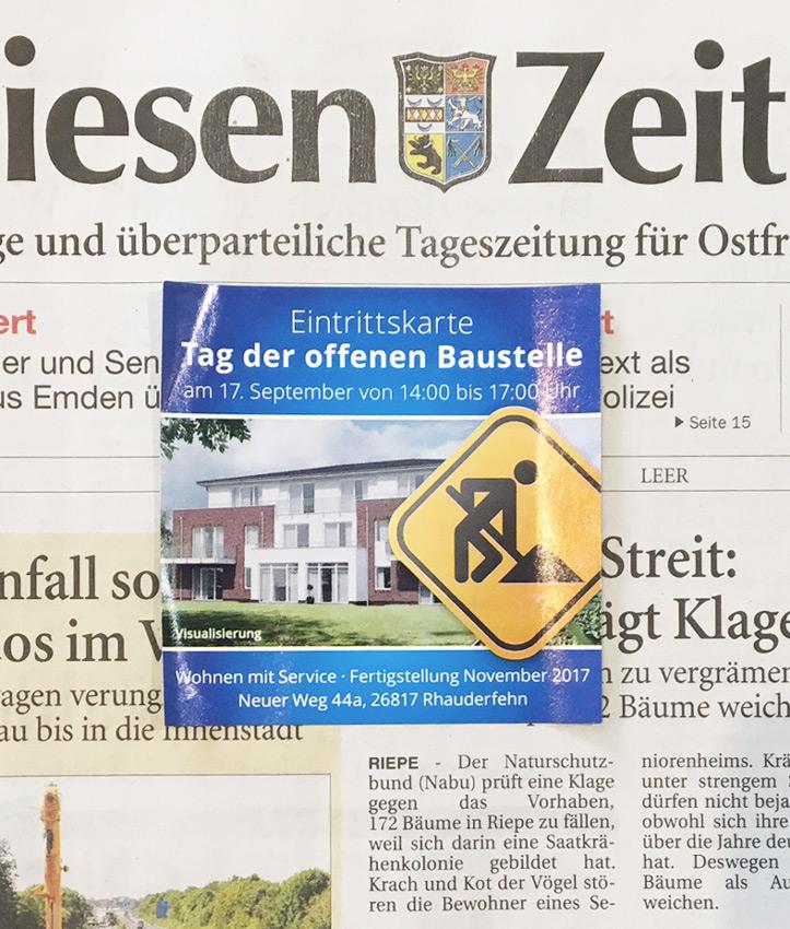 Design Memo-Sticker Tageszeitung SeniorenConcept