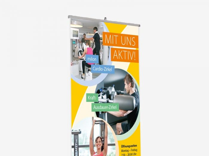 Design Physio Aktiv Hude Rollup