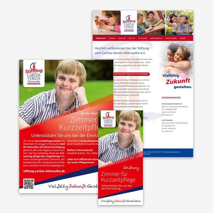 Design Stiftung Caritas-Verein Altenoythe