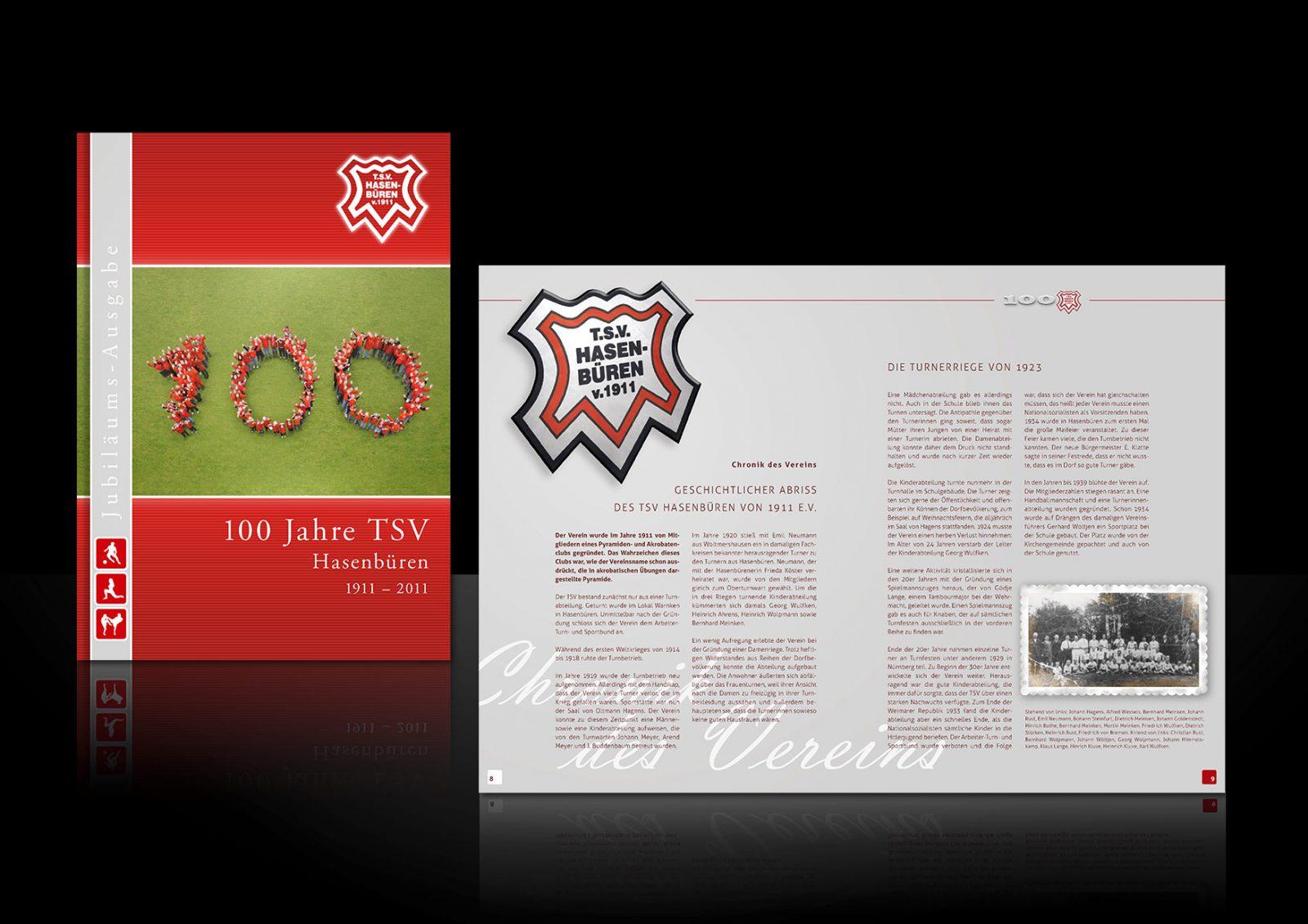 Design-Verein-TSV-Hasenbueren-Bremen-Festzeitschrift