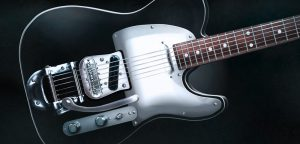 Digitale Illustration Rock Guitar