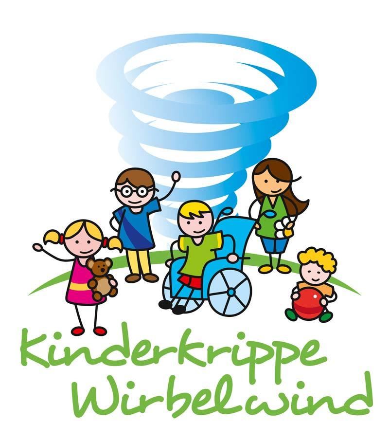 Logo Kinderkrippe Wirbelwind