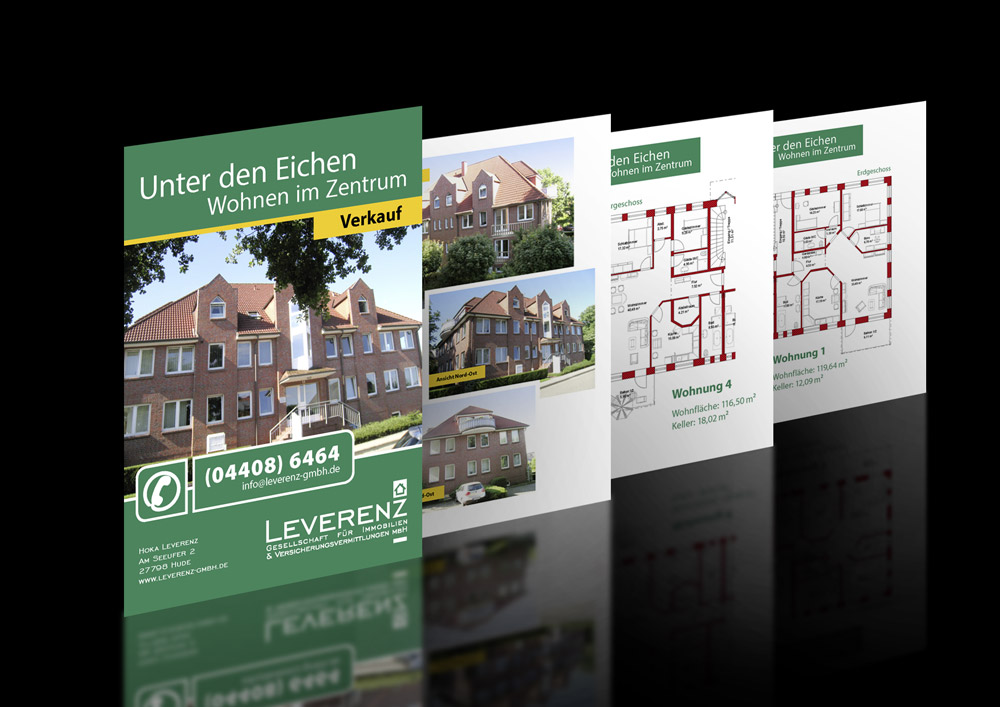 Leverenz Immobilien Hude Expose Design