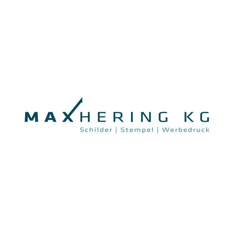 Logo Design Druckerei Max Hering