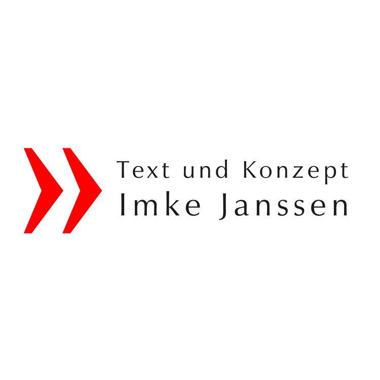 Logo Design Werbetext Imke Janssen