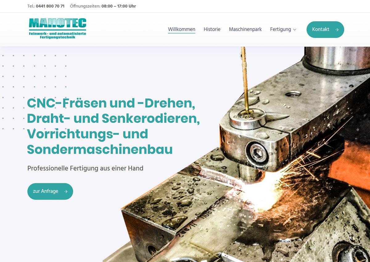 MAHOTEC Feinwerk- und automatisierte Fertigungstechnik Wiefelstede