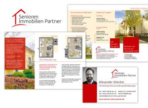Corporate Design für Senioren Immobilien Partner Oldenburg