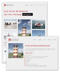 Webdesign Homepage | Imke Janssen Werbetexterin