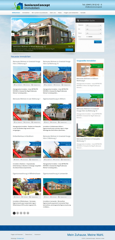 Webdesign-Homepage-SeniorenConcept-Immobilien-Betreutes-Wohnen