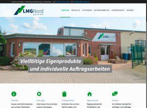 Webdesign LMG Nord Integrationsunternehmen