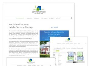 Relaunch der Homepage für SeniorenConcept Oldenburg