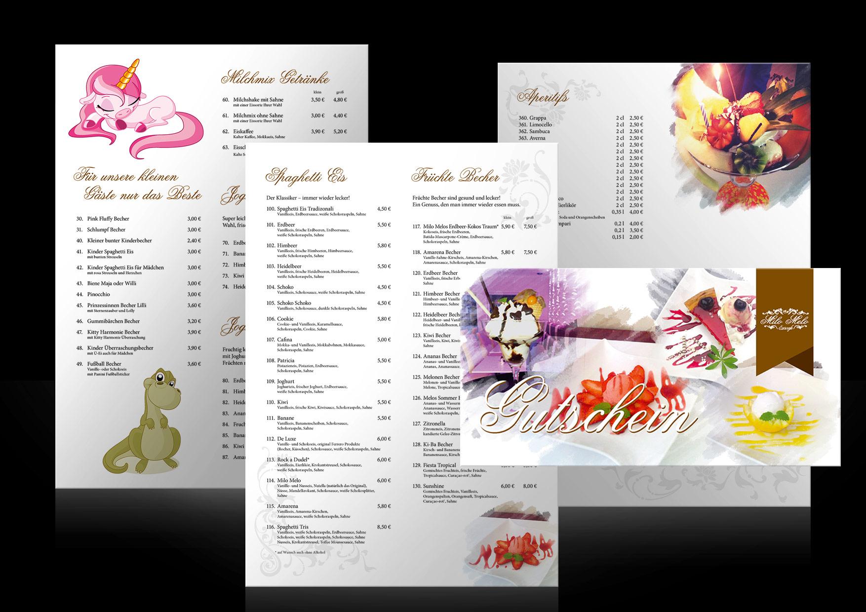 Werbung-Eiskarte-Eiscafe-Milo-Melo-Delmenhorst