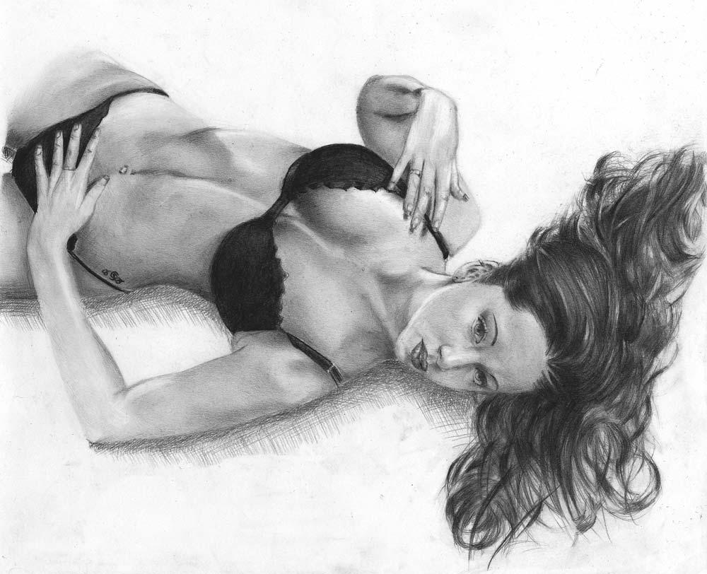 Zeichnung Simona